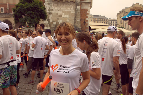 Aneta Pondo Kraków Business Run