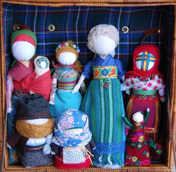 lalki magiczne, zadanice, lalki słowiańskie