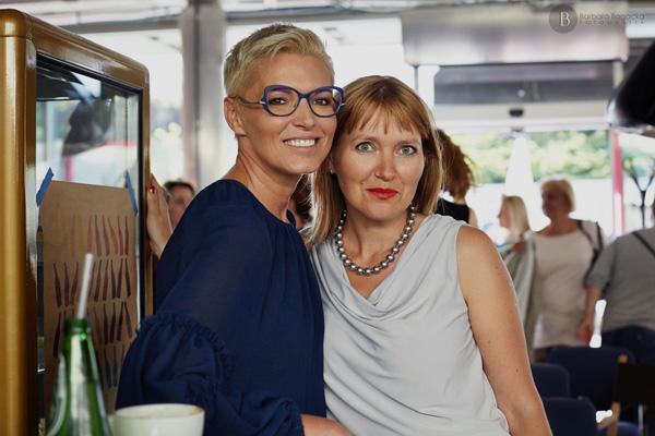 Ilona Felicjańska i Aneta Pondo