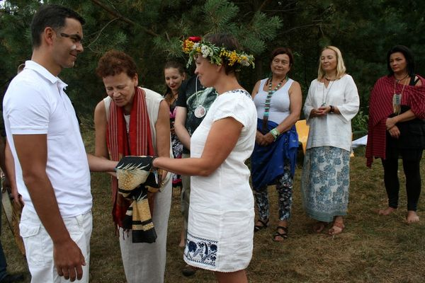 Tanna Jakubowicz-Mount, ceremonia zaslubin