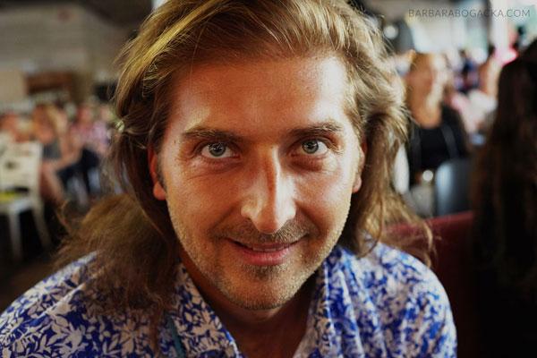 Michał Godlewski, nauczyciel oddechu, założyciel Instytutu oddechu [fot. Barbara Bogacka]