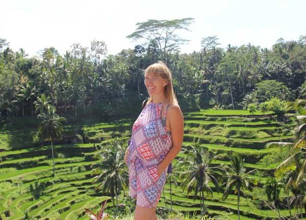 Bali, Ubud, Pola ryżowe