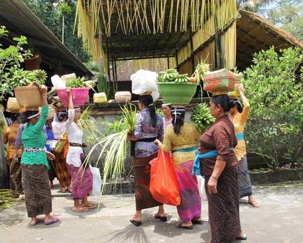 Bali, ceremonie