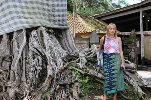 Milczenie i rozmowy, malowanie w skupieniu i taniec w ekstazie, detoks i jedzenie. Na Bali był czas na podążanie zgodnie z własnymi potrzebami i wewnętrznym rytmem. Fot. Madzia Lubowiecka