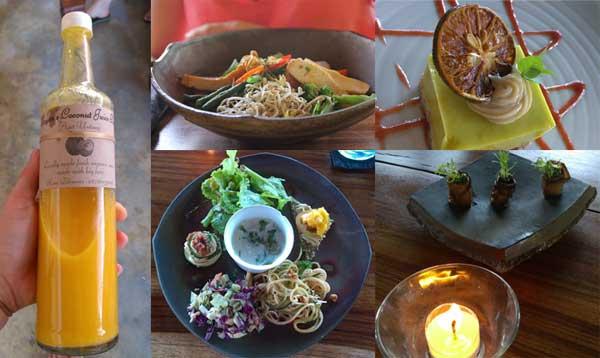 """Kuchnia """"raw"""" i wysokoenergetyczne soki – nie pamiętam, bym kiedykolwiek czuła się tak dobrze po jedzeniu, jak na Bali (fot. Madzia Lubowiecka)"""