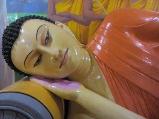 Budda śpiący