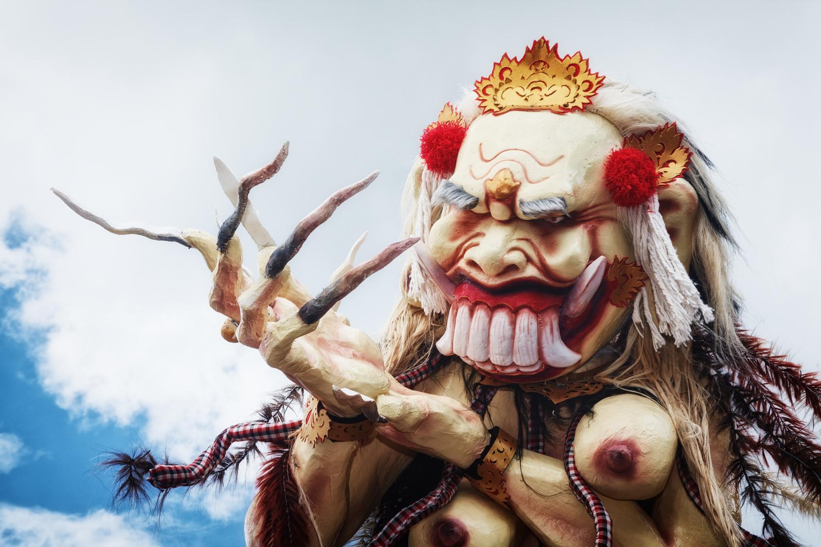 rangda, ogoh ogoh, balijski demon