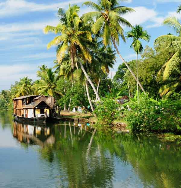 Backwaters w Kerali (fot. Fotolia)