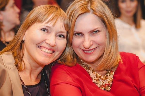 Celestyna Osiak i Aneta Pondo