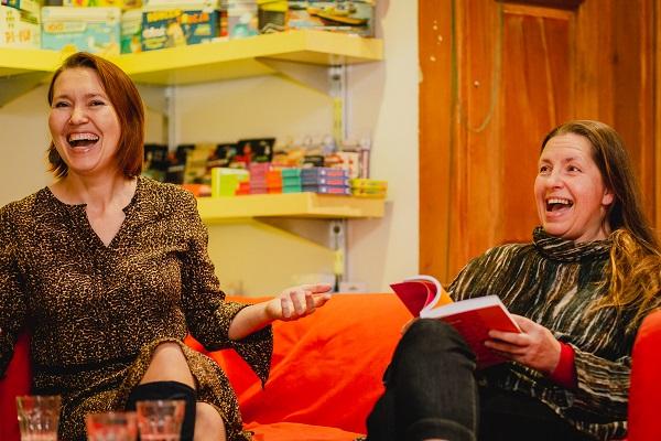 Aneta Pondo i Joanna Hussakowska, fot. Barbara Bogacka